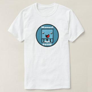 Camiseta T-SHIRT de ManuelTheSquid do *NEW* (ALGUMA COR