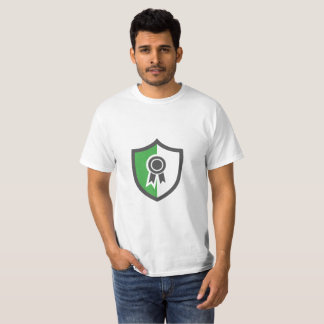 Camiseta T-shirt de marcagem com ferro quente da segurança