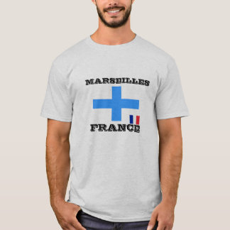 Camiseta T-shirt de Marselha, France