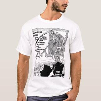 Camiseta T-shirt de Meams do capitalismo