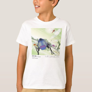 Camiseta T-shirt de Meganeura