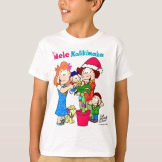 Camiseta T-shirt de Mele Kalikimaka Keiki (miúdos)