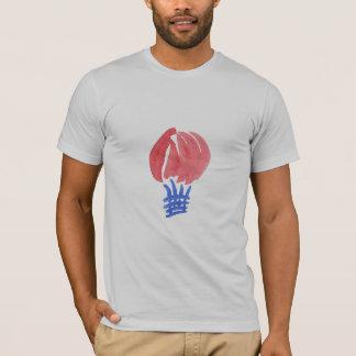 Camiseta T-shirt de Men do balão de ar