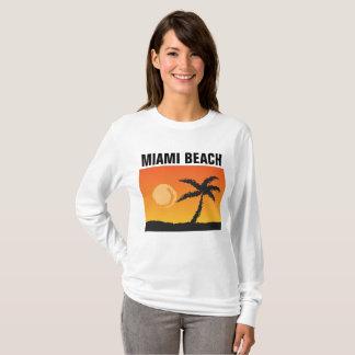 Camiseta T-shirt de MIAMI BEACH FLORIDA