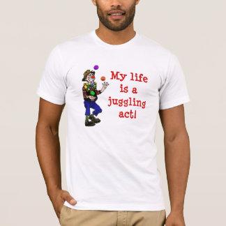 Camiseta T-shirt de mnanipulação do ato