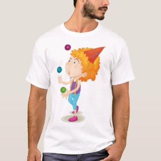Camiseta T-shirt de mnanipulação dos homens do menino