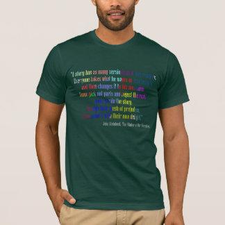 Camiseta T-shirt de muitas versões