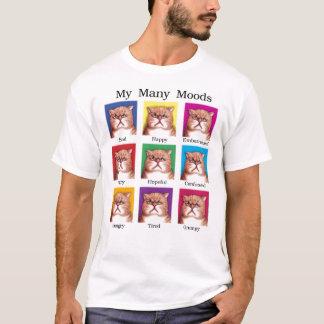 Camiseta T-shirt de muitos humores