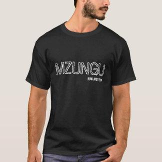 Camiseta T-shirt de Mzungu