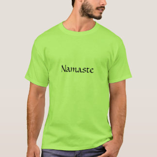 Camiseta T-shirt de Namaste