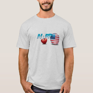 Camiseta T-shirt de NAPP EUA