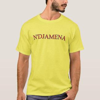 Camiseta T-shirt de N'Djamena