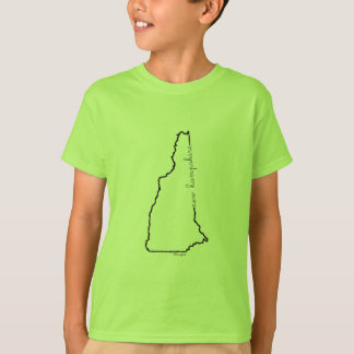 Camiseta T-shirt de New Hampshire