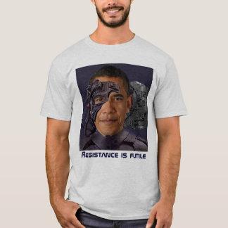 Camiseta T-shirt de Obama Borg