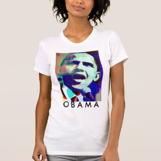 Camiseta T-shirt de Obama sim, nós podemos.  - O t-shirt