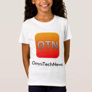 Camiseta T-shirt de OmniTechNews - miúdos, meninas