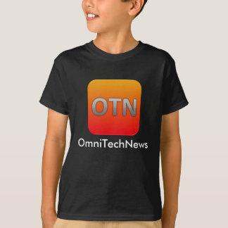 Camiseta T-shirt de OmniTechNews - miúdos, meninos