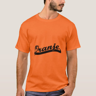 Camiseta T-shirt de Oranje da equipe