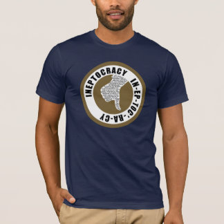 Camiseta T-shirt de Oxygentees INEPTOCRACY