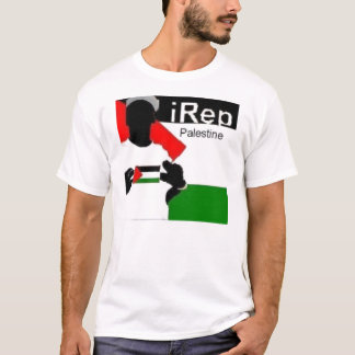 Camiseta t-shirt de Palestina do iRep