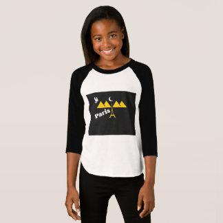 Camiseta T-shirt de Paris para mulheres