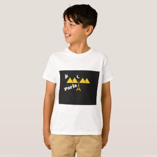 Camiseta T-shirt de Paris para mulheres,
