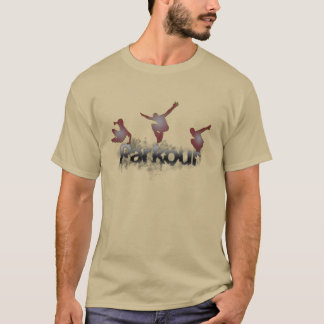 Camiseta T-shirt de Parkour