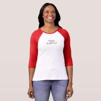 Camiseta T-Shirt~ de passeio bom para sua alma
