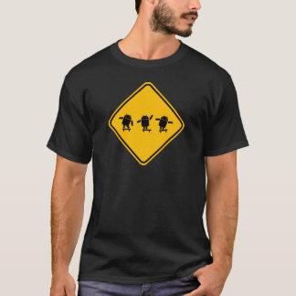 Camiseta T-shirt de patinagem do Android