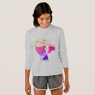 Camiseta T-shirt de patinagem Ipanema do miúdo do elogio do