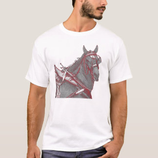 Camiseta T-shirt de Percheron