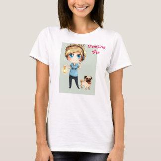 Camiseta T-shirt de PewDiePie do Anime
