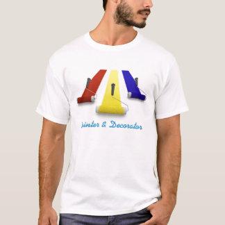 Camiseta T-shirt de Pintor & Decorador Empresa