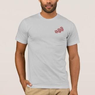 Camiseta T-shirt de Poketr do toxicómano da ação