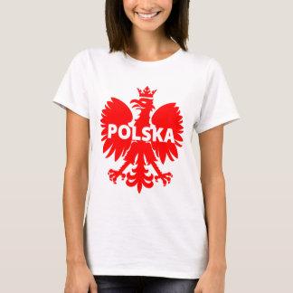 Camiseta T-shirt de Polska Eagle do Polônia das mulheres