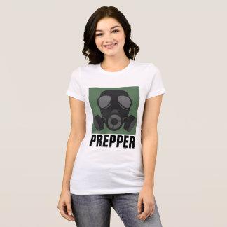 Camiseta T-shirt de PREPPER, MÁSCARA de GÁS