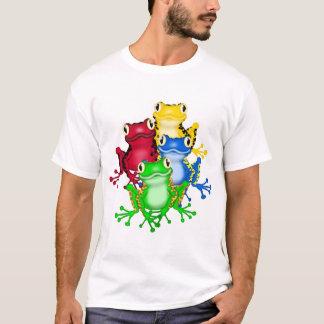 Camiseta T-shirt de quatro sapos