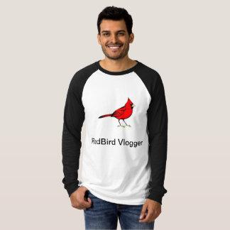 Camiseta T-shirt de RedBird Vlogger para homens