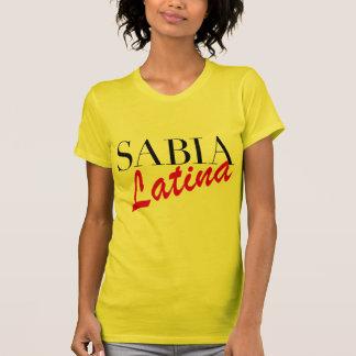 Camiseta T-shirt de Sabia Latina