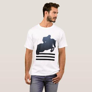 Camiseta T-shirt de salto das ligações em ponte dos