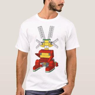 Camiseta T-shirt de salto do coelho