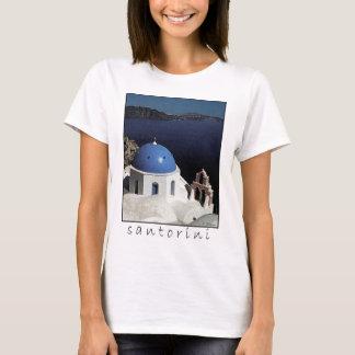 Camiseta T-shirt de Santorini