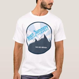 Camiseta T-shirt de sete Cimeiras Brewing Empresa