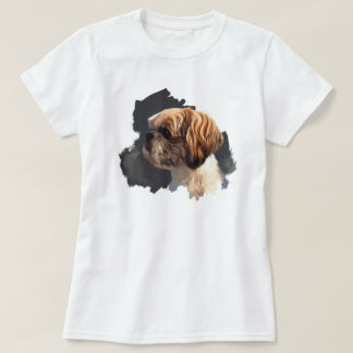 Camiseta T-shirt de Shih Tzu