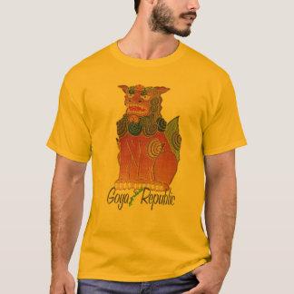 Camiseta T-shirt de Shisa da república de Goya
