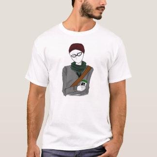 Camiseta T-shirt de Slenderman do hipster