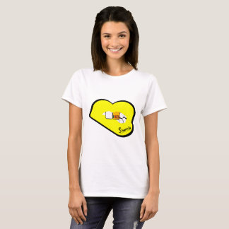 Camiseta T-shirt de Sri Lanka dos lábios de Sharnia (lábios