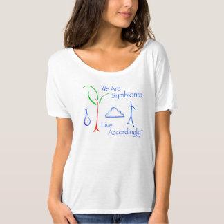 Camiseta T-shirt de Symbiont do pescoço da colher