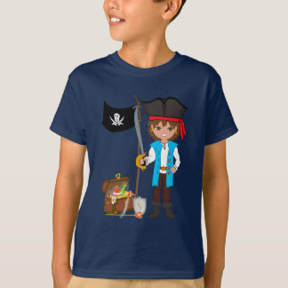 Camiseta T-shirt de Thaddeus Treasuretaker do pirata