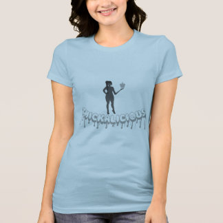 Camiseta T-shirt de Thickalicious, de azuis bebés & de